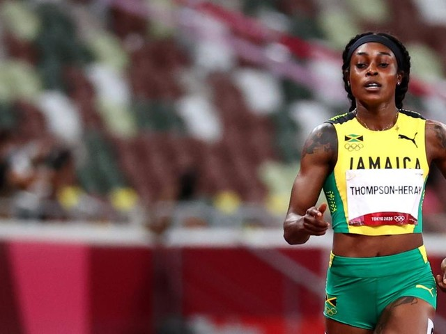 Sprint-Superstar Thompson-Herah krönt sich erneut mit Doppel-Gold