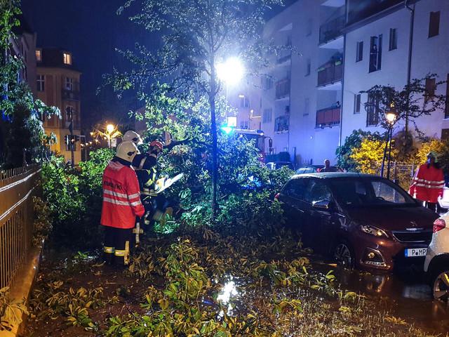 """""""Ausnahmezustand Wetter"""" : Schäden durch erneutes Unwetter im Osten"""