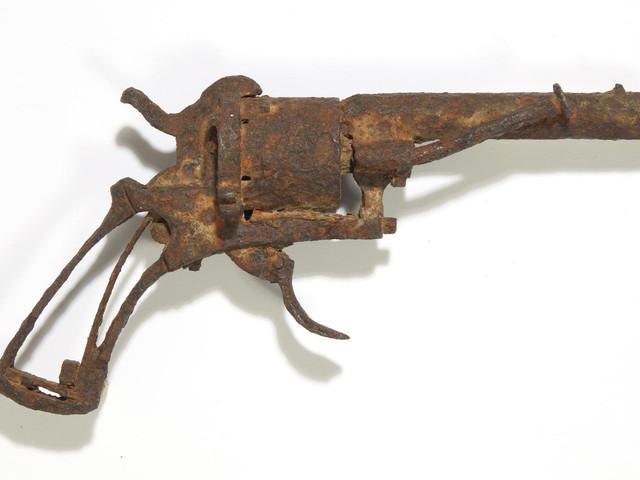 Mutmaßlicher Suizid-Revolver Vincent van Goghs versteigert