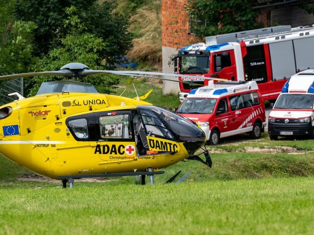 Schwerer Unfall mit Kohlenmonoxid in Oberösterreich