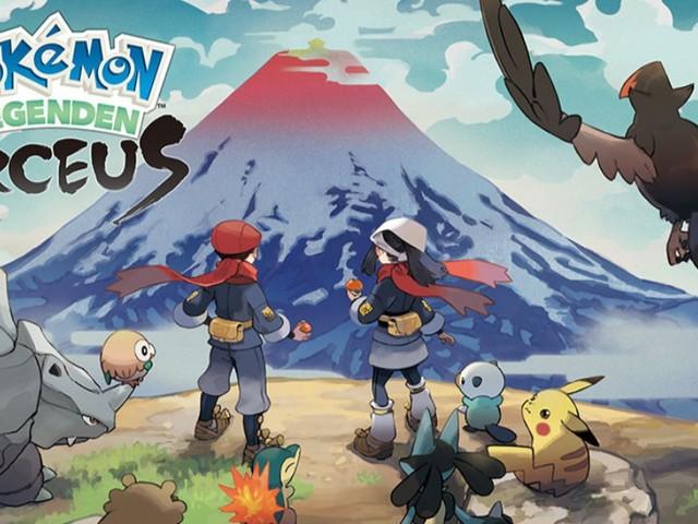 Pokémon-Legenden: Arceus - ArceusPhone, Elite-Pokémon, Axantor und drei Reittiere