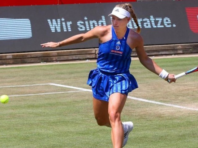 Kurz vor Wimbledon: Kerber im Viertelfinale von Bad Homburg