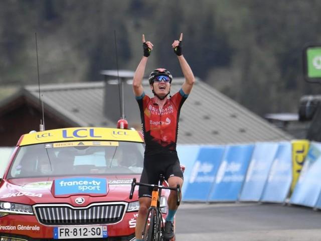 Critérium du Dauphiné: Padun lacht, Konrad fällt weit zurück