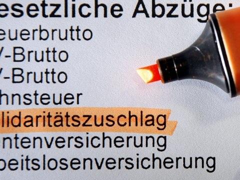 """Solidaritätszuschlag: Altmaier schlägt """"Abschmelzmodell"""" für Soli-Abschaffung vor"""