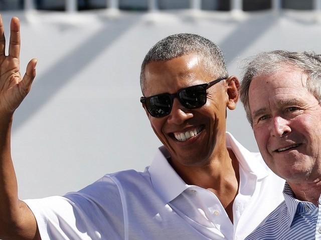 """Bush und Obama kritisieren Trump in """"nie dagewesener"""" Form"""