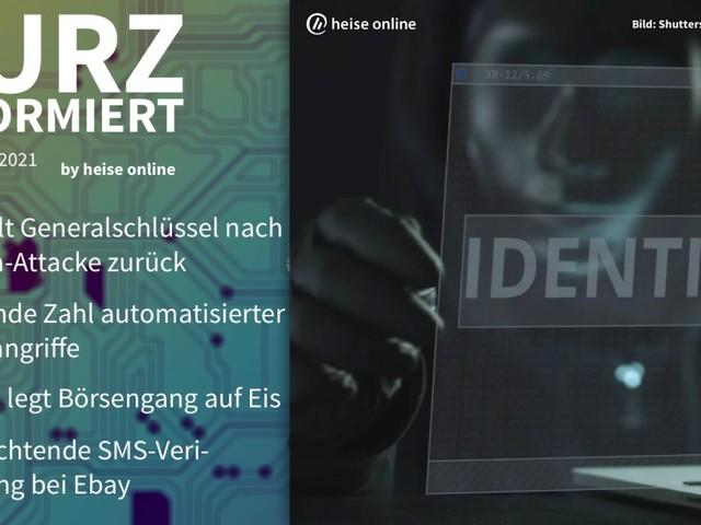 Kurz informiert: Kaseya, Bot-Attacken, Babbel, Ebay