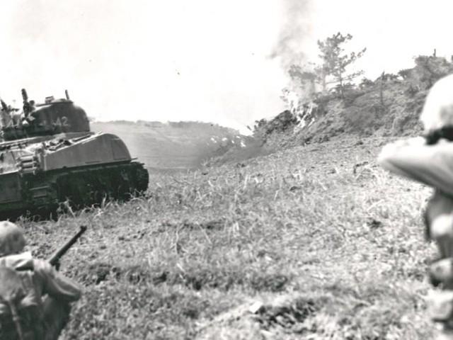 Schlacht von Okinawa: Was passiert, wenn ein Enkel den Spuren seines Kriegshelden-Opas folgt