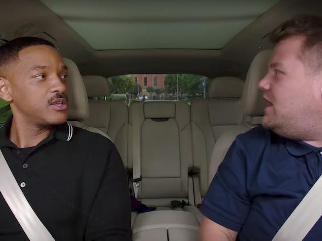 James Cordens Carpool Karaoke ist jetzt bei apple Music, neue Ausgabe mit Will Smith