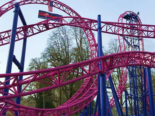 """""""Adrenaline Peak Roller Coaster"""" wird neue Gerstlauer Euro-Fighter-Achterbahn 2018 in Oak's Amusement Park"""