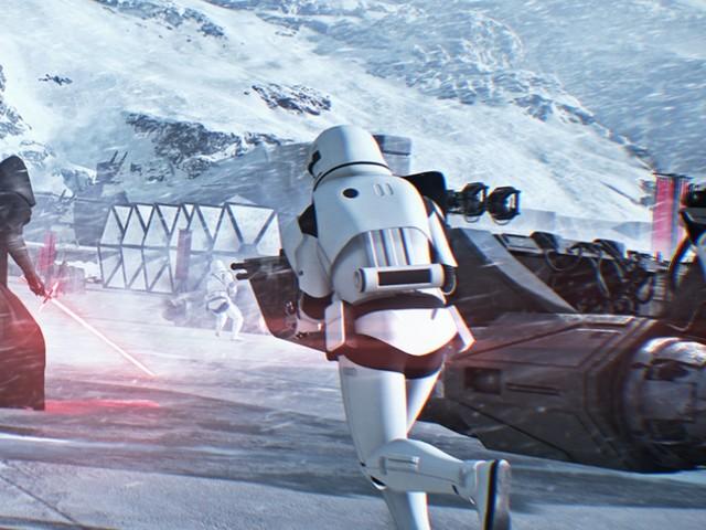 """Star Wars battlefront 2: Entwickler führen im Video durch die Raumschlachten der """"Starfighter Assault""""-Demo"""
