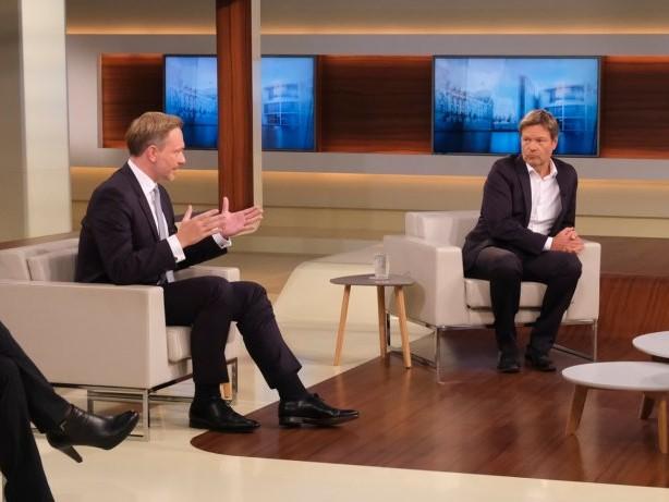"""ARD-Talk: """"Anne Will"""": Lindner überraschend auf Kuschelkurs mit Habeck"""