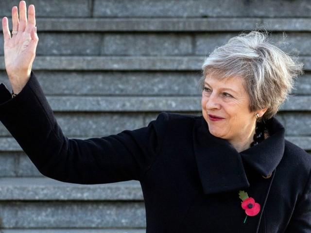 EU-Austritt: Britische Regierung verkündet Einigung aufText für Brexit-Abkommen