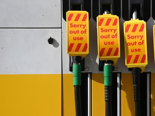 Bis zu 90 Prozent der Tankstellen in Großbritannien ohne Sprit