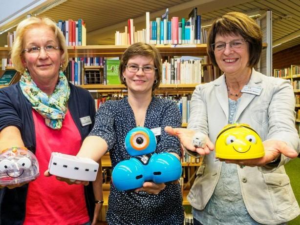 Digitalisierung: Stadtbibliothek Herne will Kinder mit Robotern fördern