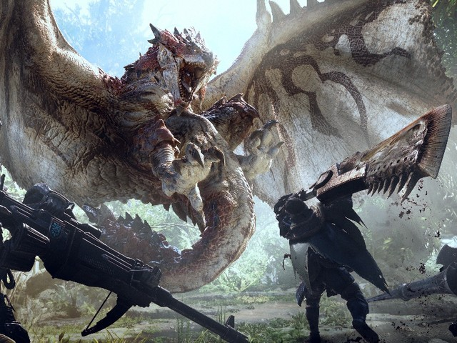 Monster Hunter: World - Video: Ein erster Blick in die Wildturm-Ödnis