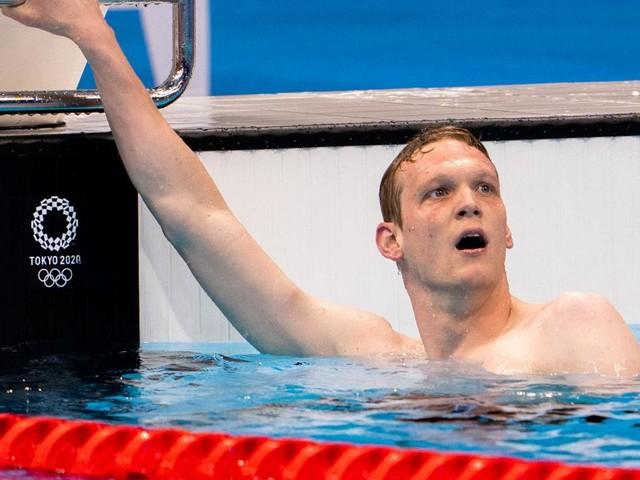Rekord pulverisiert: Schwimmstar Auböck erneut im Olympia-Finale