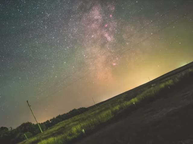 Faszinierendes Video zeigt Erdrotation relativ zur Milchstraße