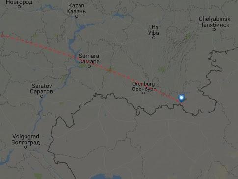 Ist die russische Maschine in der Luft explodiert?