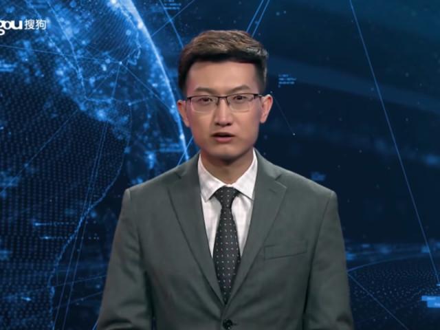 China: Neuer Sprecher taucht im TV auf – etwas an ihm ist unheimlich