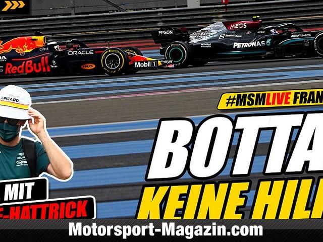 Video: Formel 1, Frankreich: Hat Bottas Hamilton den Sieg gekostet?