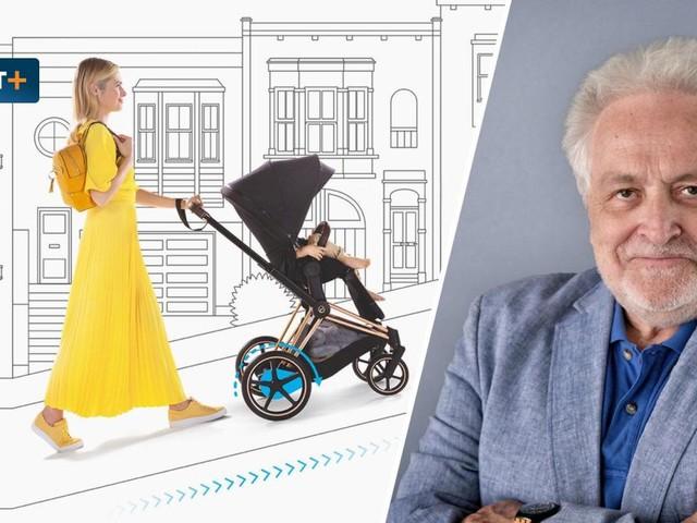 Der Elektro-Kinderwagen ist der Nachfolger von Laktoseintoleranz
