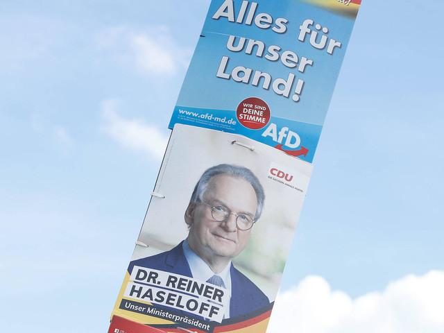 Landtagswahl 2021 Sachsen-Anhalt: CDU und AfD liefern sich knappes Rennen