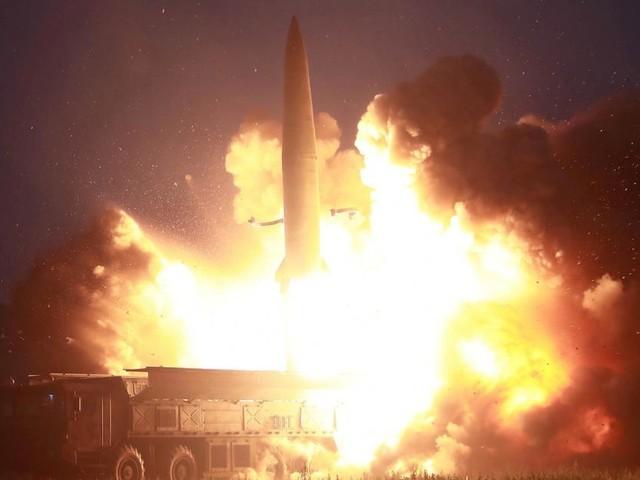 """Nordkorea: Jüngster Raketentest war """"Warnung"""" an USA und Südkorea"""
