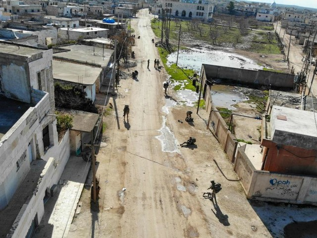 Türkische Armee attackiert 115 Ziele des Assad-Regimes