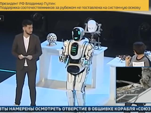 Boris - Von Russlands Staats-TV gelobter Hightech-Roboter war verkleideter Mensch