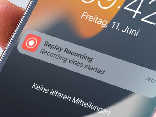 Neu mit iOS 15: Mini-Videos auf Knopfdruck