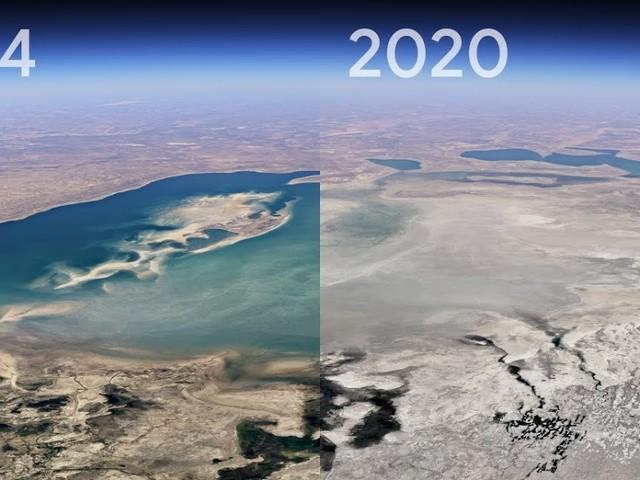 Entdecke Timelapse in Google Earth | Ein Mega-Update zeigt uns die Veränderung unseres Planeten