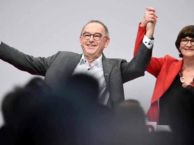 SPD hat erstmals Führungsduo: Saskia Esken und Norbert Walter-Borjans