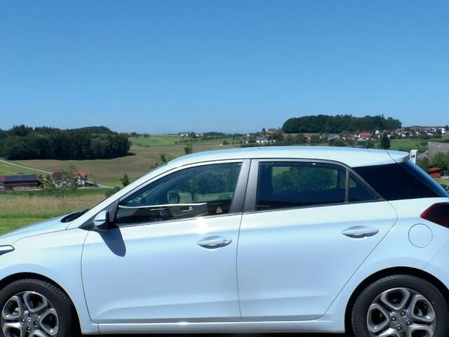 Zügig unterwegs mit dem Hyundai i20