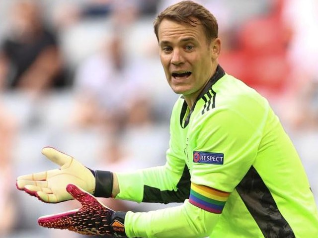 UEFA prüfte kurzzeitig Neuers Regenbogen-Kapitänsbinde
