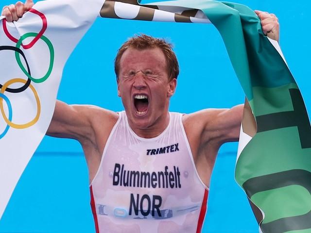 Kristian Blummenfelt bei Olympia: Triathlon-Gold mit Ansage