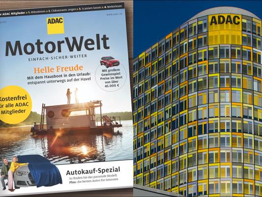 """""""Wirtschaftswoche"""": Die Hälfte der """"ADAC Motorwelt"""" bleibt an Abholstellen liegen."""