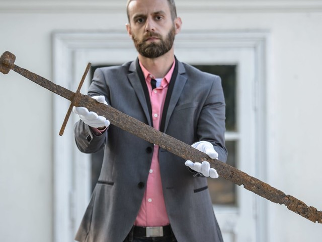 This Stunning Medieval Longsword Was Just Pulled From a Polish Bog