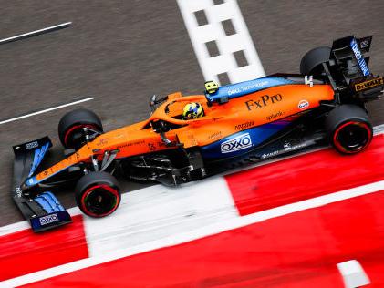 Formel 1: McLaren Norris-Pole bestätigt McLaren-Höhenflug