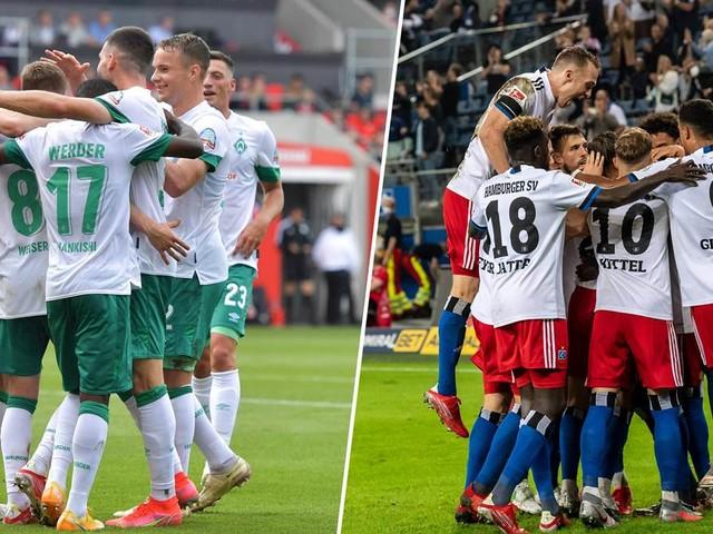 Werder Bremen gegen den Hamburger SV live im TV und Online-Stream sehen