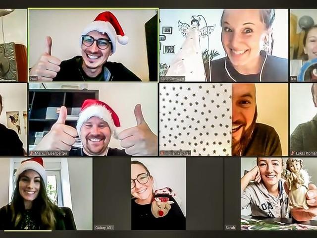 Grazer Firma startet mit virtuellen Weihnachtsfeiern durch