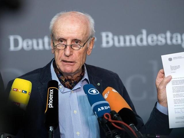 AfD-Mann Albrecht Glaser im Fokus: Dem neuen Bundestag droht gleich zum Start ein Eklat