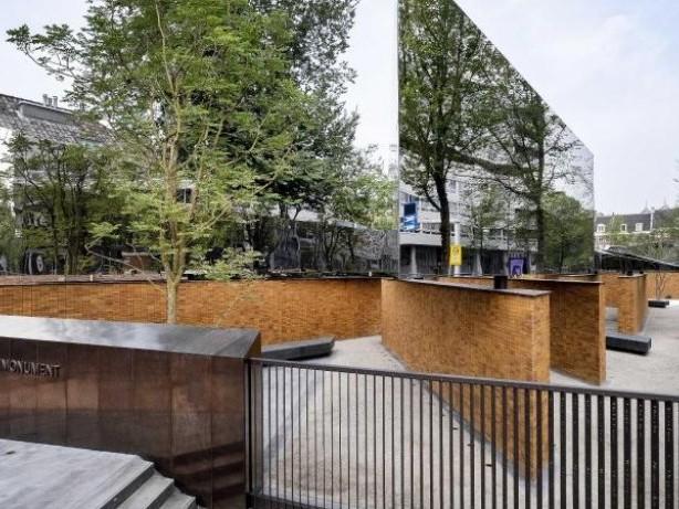 Erinnerung: Holocaust-Monument in Amsterdam: Ein Stein für jedes Opfer