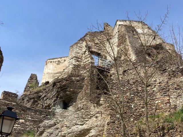 Sanierung: Ruine Rehberg soll ab Ende Mai wieder zugänglich sein
