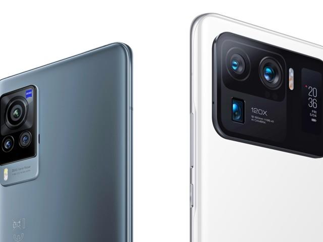 Smartphones Xiaomi Mi 11 Ultra und Vivo X 60 Pro im Test