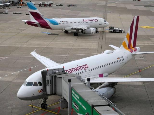Bundesweit: Lufthansa: Töchter-Airlines vor Streik am Sonntag