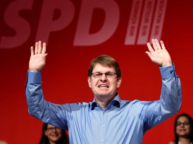SPD-Vorsitz: Gesine Schwan und Ralf Stegner - Neues Bewerberduo steigt ins Rennen ein