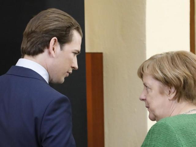 """Merkel kritisiert Kurz: Rolle Österreichs in Flüchtlingspolitik """"nicht gut"""""""
