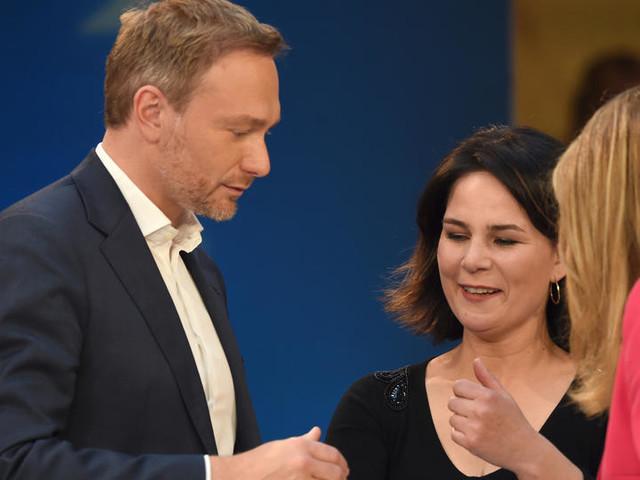Grüne und FDP fast sicher an der Regierung - SPD oder CDU müssen in die Opposition