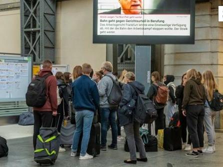 Was Urlauber jetzt zum Bahnstreik wissen müssen