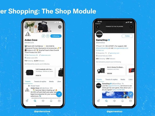 Bald Shopping auf Twitter?
